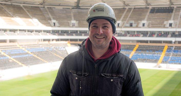 Oleg Fedorin, jefe del Departamento de control de las obras del estadio Rostov Arena