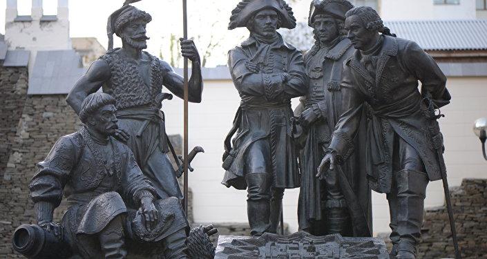 Monumento a los fundadores de Rostov del Don