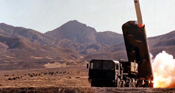 Lanzamiento de misiles estadounidenses BGM-109G Pryphon, 1 de noviembre de 1982