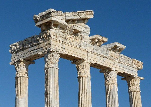 Ruinas antigüas (imagen referencial)