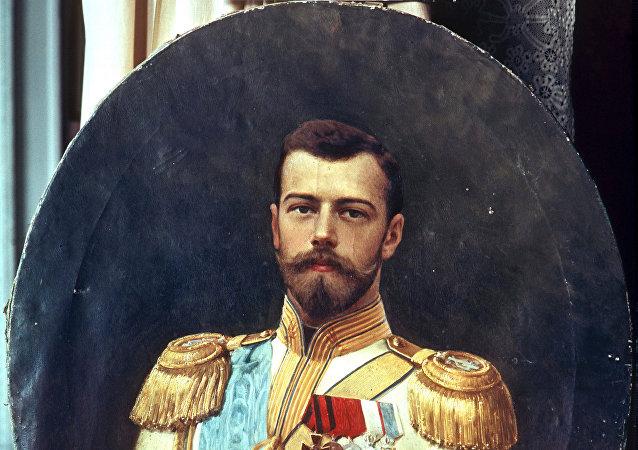 El retrato de Nicolás II