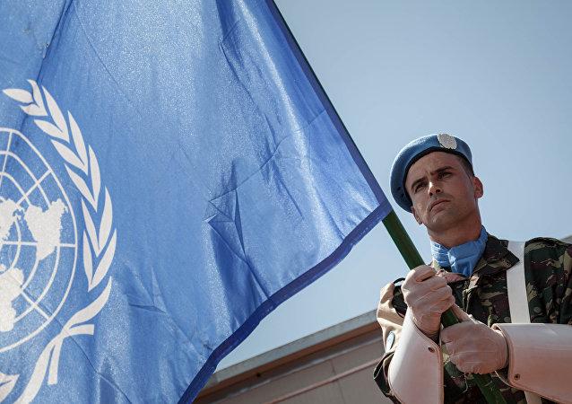 Misión de paz de la ONU (archivo)