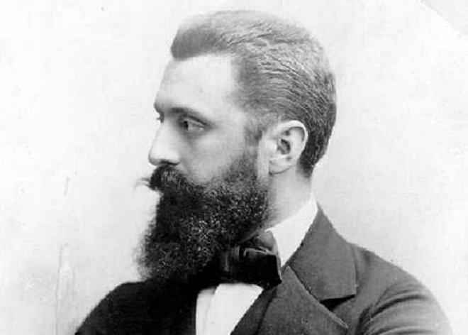 Theodor Herzl (1860-1904), periodista y escritor austrohúngaro de origen judío, fundador del sionismo político moderno