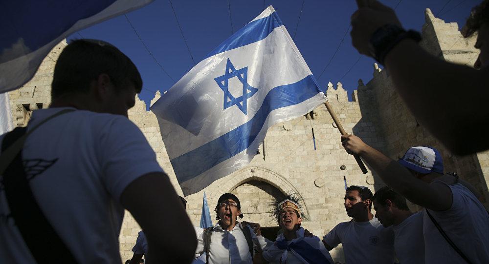 Jóvenes israelíes celebran el día de Día de Jerusalén (archivo)