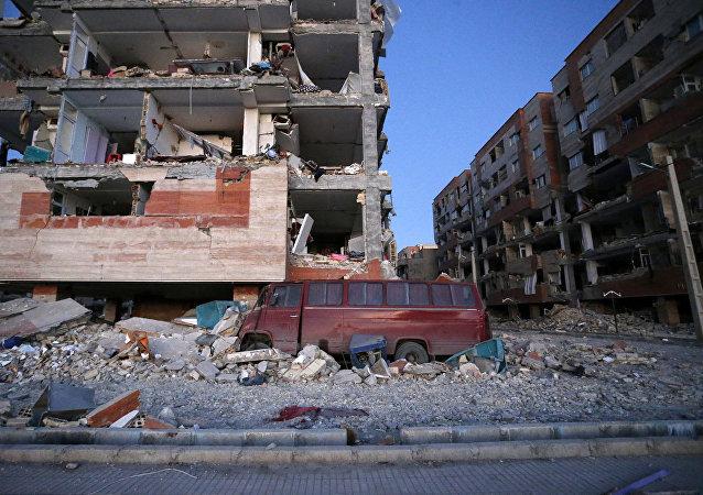 Consecuencias del terremoto en Irán (archivo)