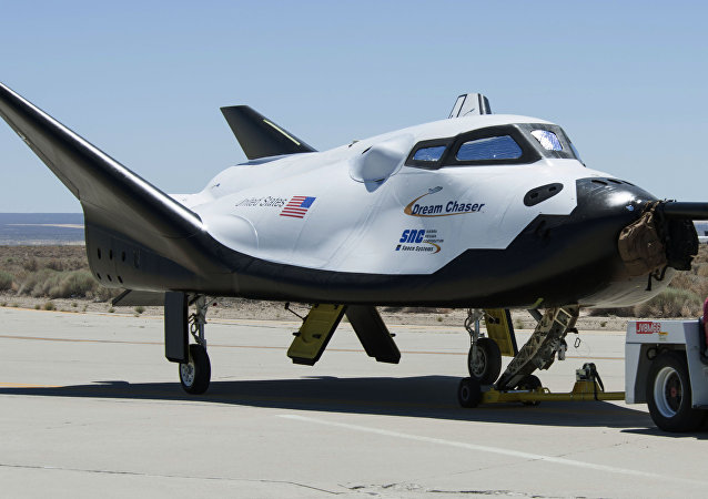La nave espacial Dream Chaser
