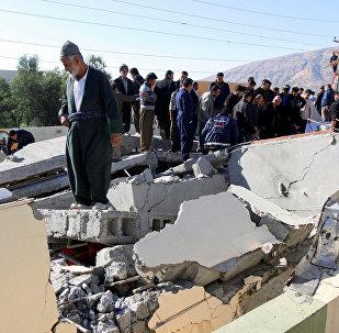 Terremoto en la frontera de Irán e Irak