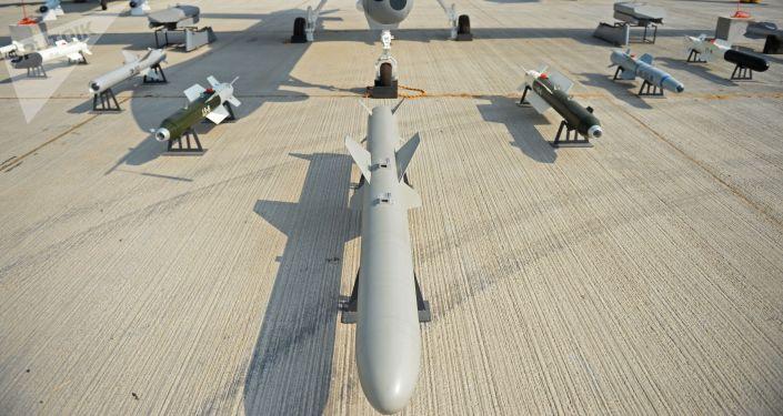 Un dron Wing Loong-2, otra copia china del MQ-9 Predator estadounidense (imagen ilustrativa)