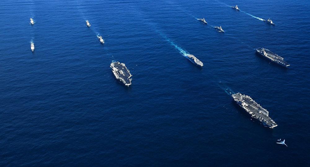 Maniobras de gran escala de EEUU y Corea del Sur