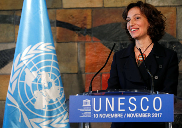 Audrey Azoulay, la directora general de la Unesco