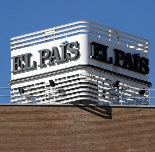 Sede del principal diario español El País en Madrid, España