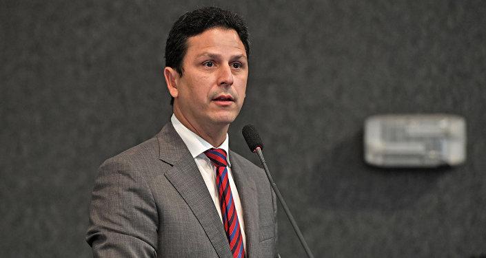 El ministro de las Ciudades de Brasil, Bruno Araújo
