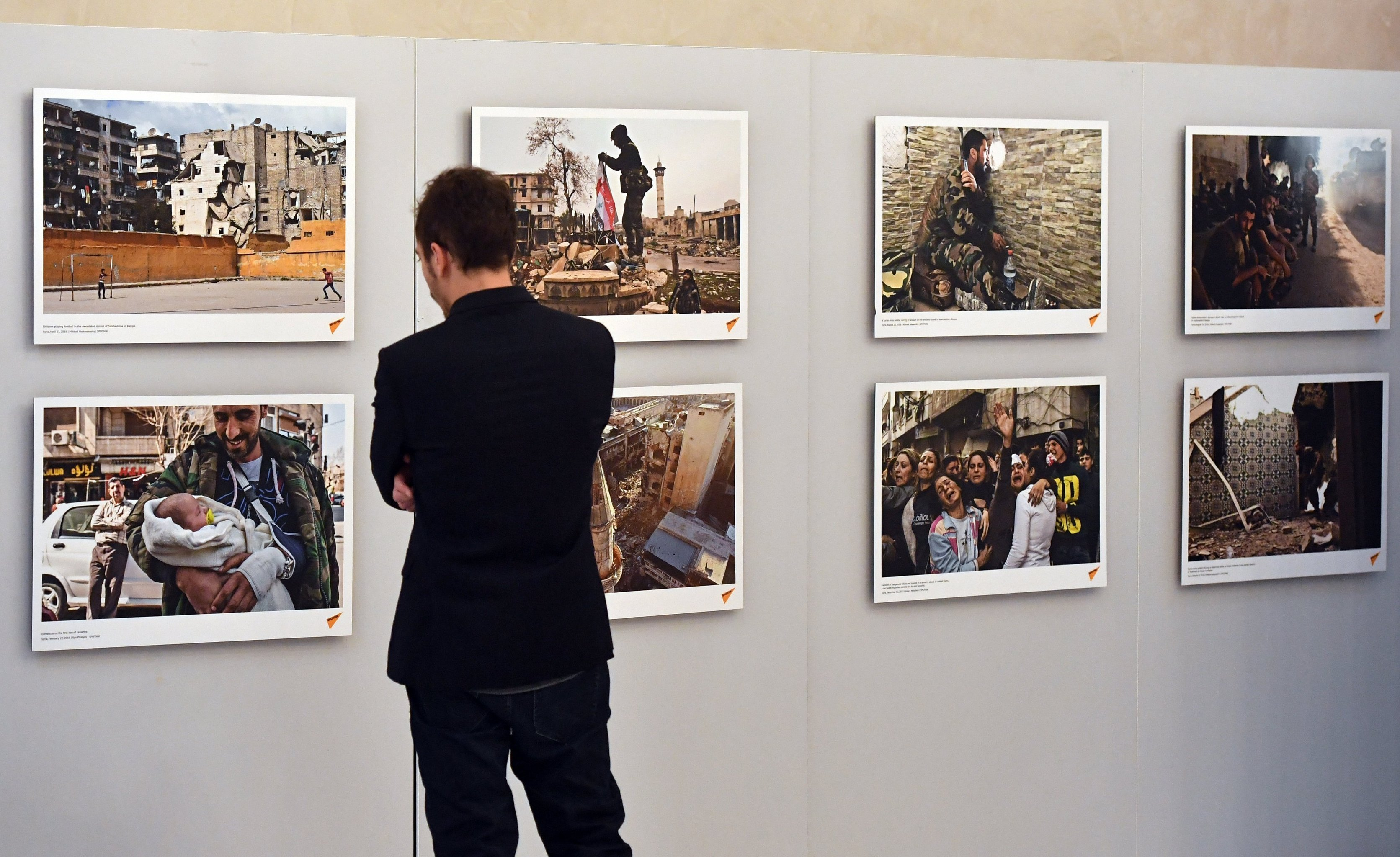 Exposición de fotos sobre Siria en Estrasburgo