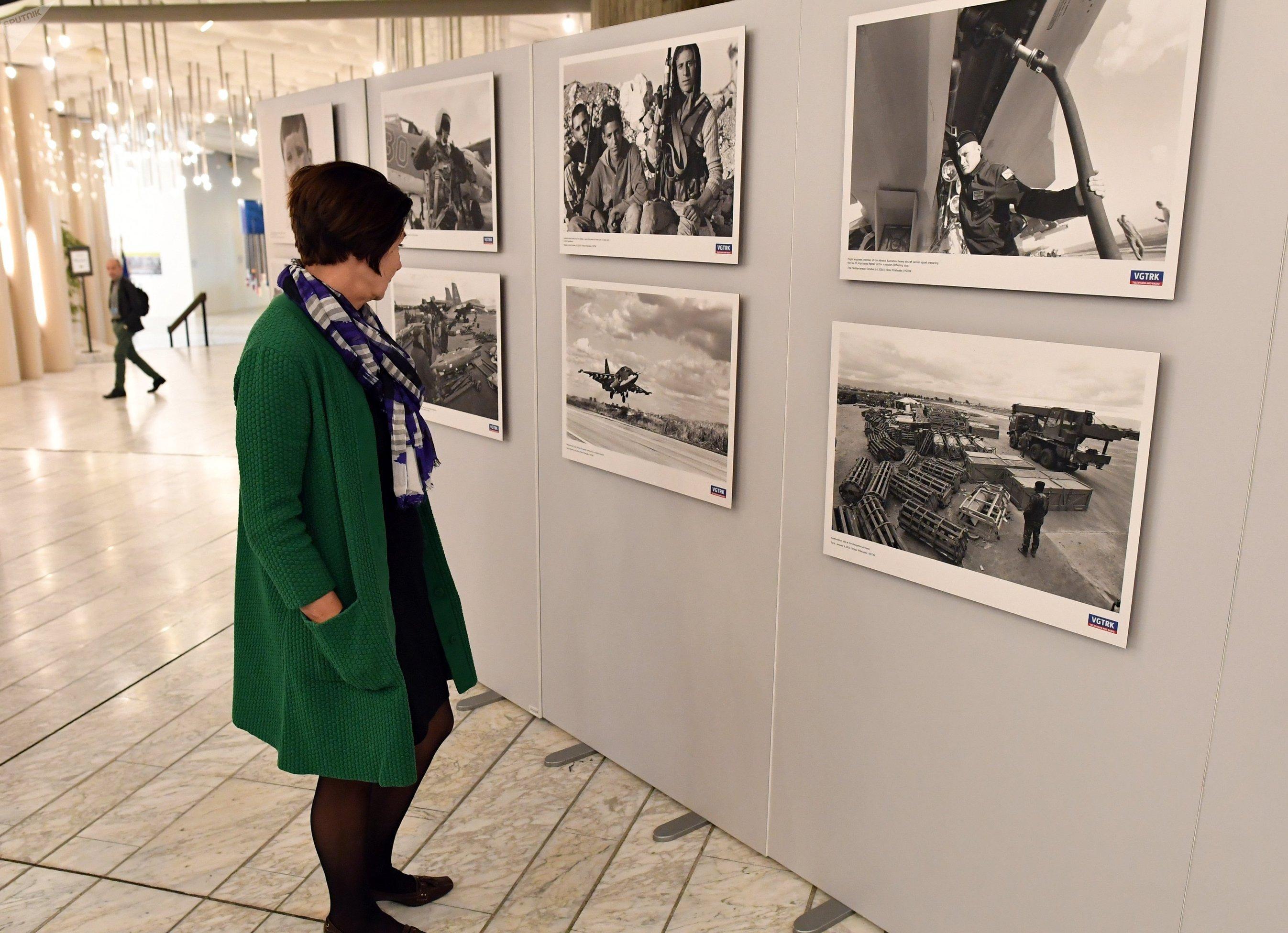 Exposición rusa de fotos sobre Siria en Estrasburgo