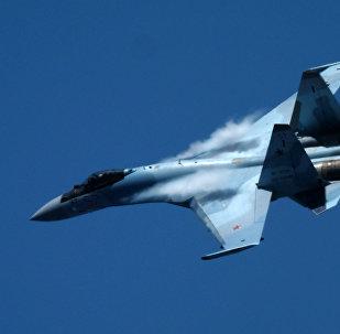 Caza ruso Su-35 (archivo)