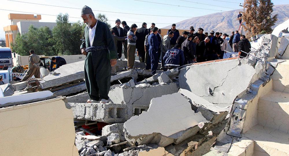 Las consecuencias del terremoto en Irán