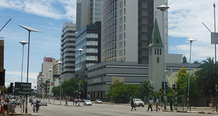 Harare, la capital de Zimbabue
