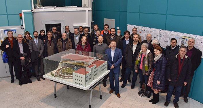 Miembros del CREMLIN, el proyecto científico de la Unión Europea y Rusia