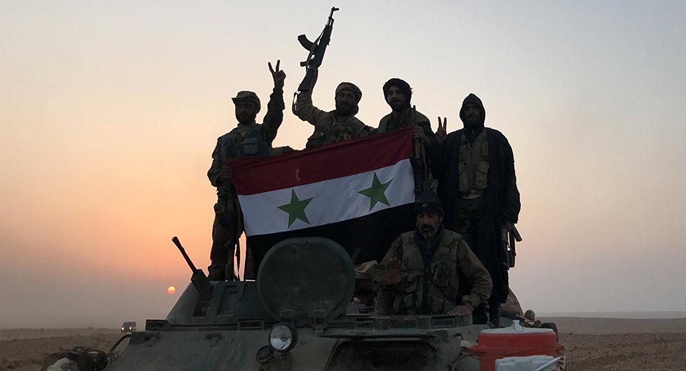 Tropas gubernamentales sirias