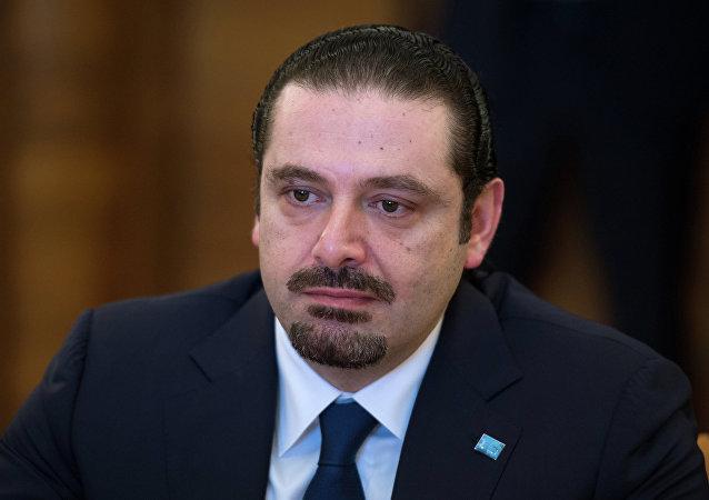 Saad Hariri, el primer ministro libanés y líder del movimiento político Al Mustaqbal