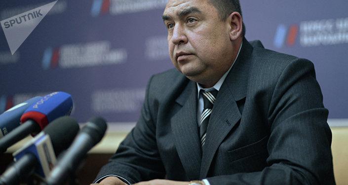Ígor Plotnitski, líder de la autoproclamada República Popular de Lugansk (RPL)
