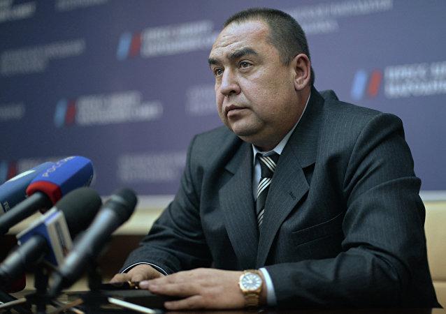 Ígor Plotnitski, líder de la autoproclamada República Popular de Lugansk (archivo)