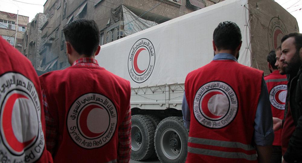 La Media Luna Roja en Siria