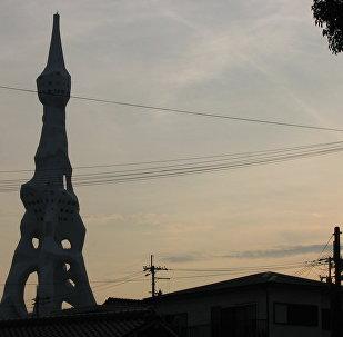 La Torre de la Paz Mundial está en la ciudad de Tondabayashi