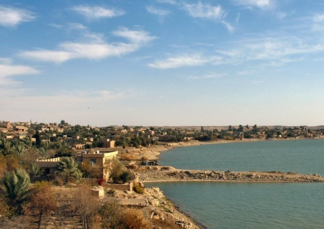 La ciudad iraquí de Rawa (archivo)
