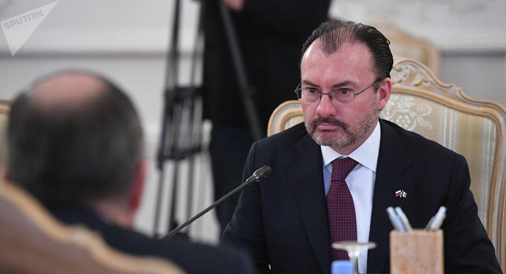 Luis Videgaray Caso, el secretario de Relaciones Exteriores de México