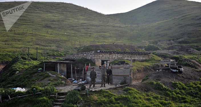 La situación en e territorio del conflicto karabají