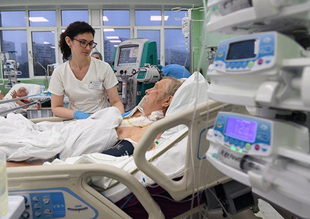 Un hospital de Rusia
