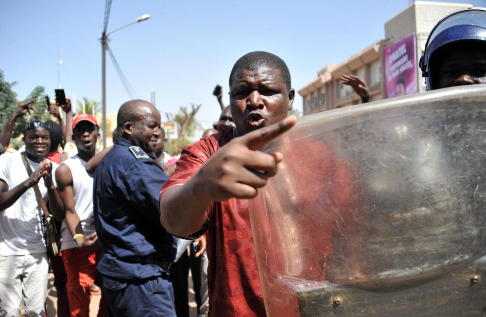 Protestas antigubernamentales en Uagadugú