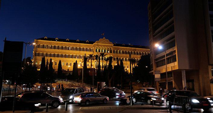 El Palacio de Gobierno de Líbano