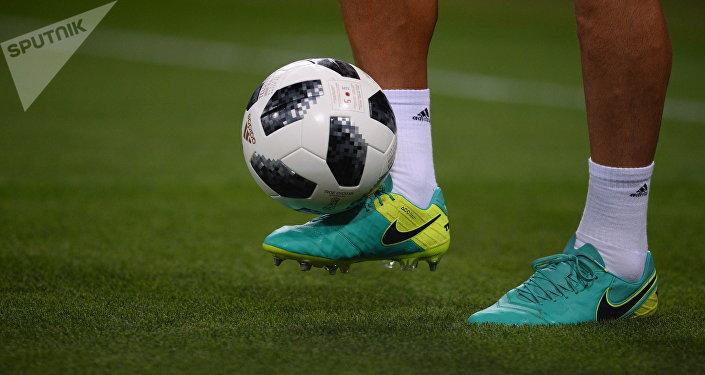 Una pelota de fútbol