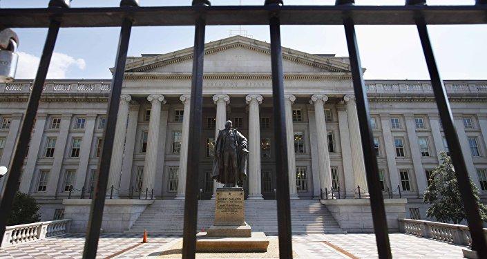 Sede del Departamento del Tesoro de Estados Unidos en Washington