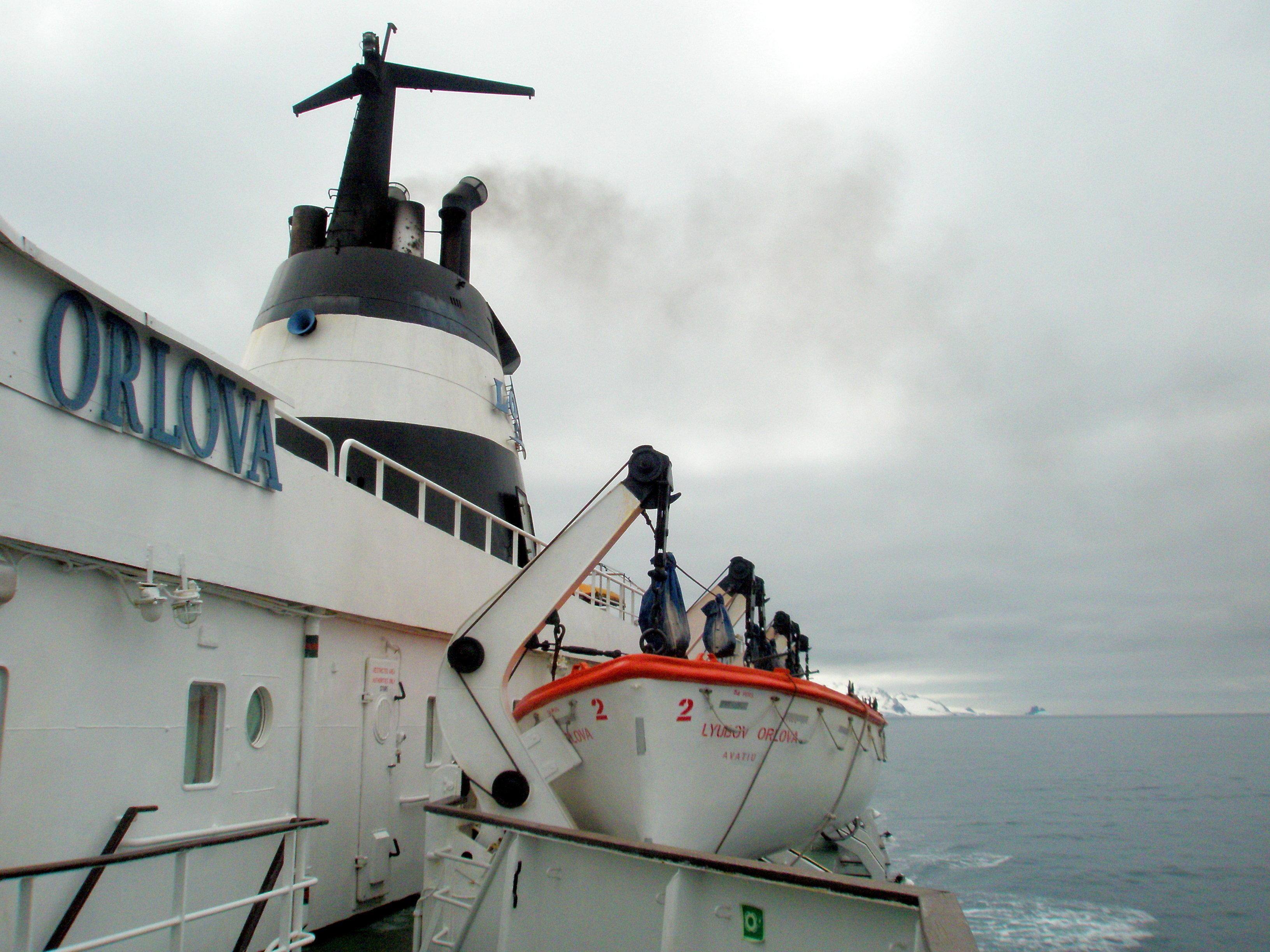 El buque Liubov Orlova