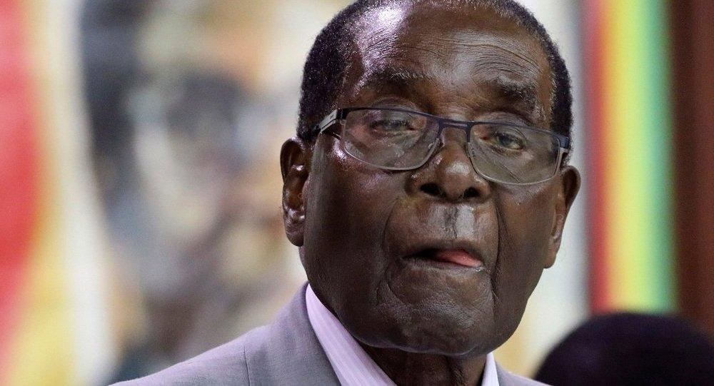 Robert Mugabe, presidente de Zimbabue