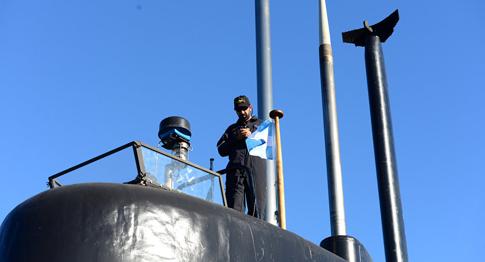 El submarino argentino San Juan