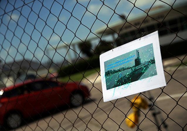 La foto del desaparecido submarino San Juan de la Armada argentina