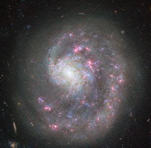 La galaxia NGC 4625