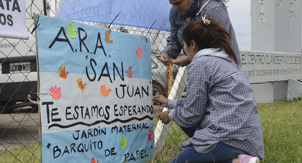 Desaparición del submarino San Juan en Argentina (imagen referencial)