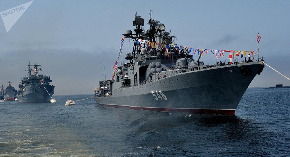 El buque ruso (imagen referencial)
