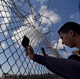 El paso fronterizo de Rafah entre la Franja de Gaza y Egipto