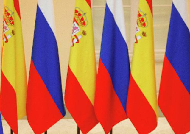 Президент РФ Дмитрий Медведев во время рабочего визита короля Испании в Россию