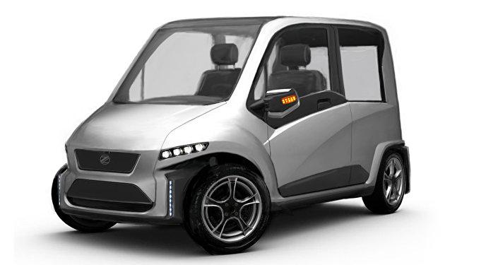 Automóvil ruso, controlado por la fuerza de mente