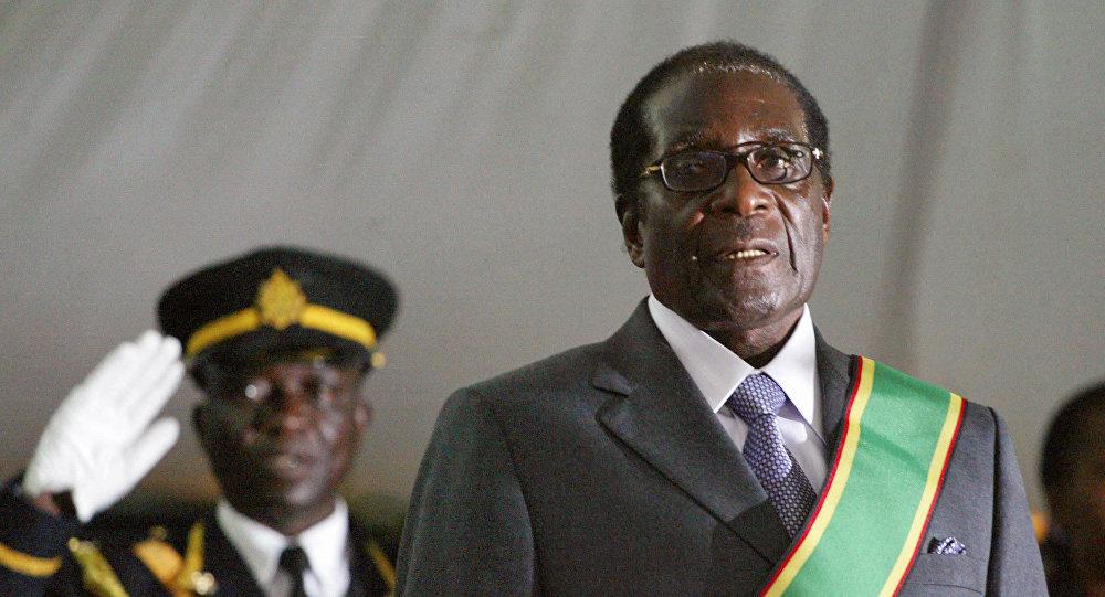 Robert Mugabe, el presidente de Zimbabue