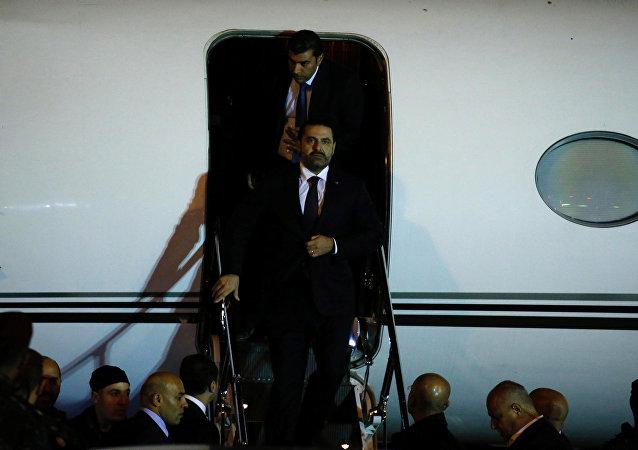 Saad Hariri, ex primer ministro del Líbano