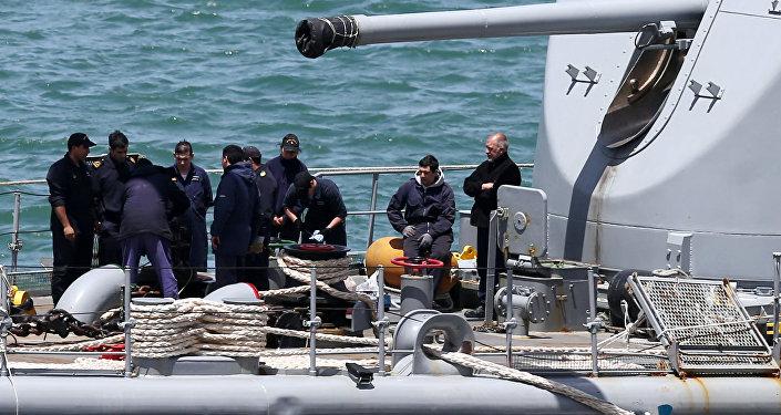 Búsqueda para encontrar el submarino ARA San Juan