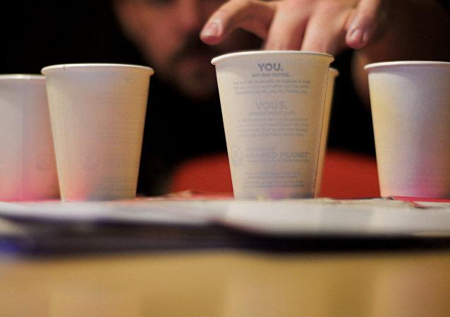 Vasos de papel (imagen ilustrativa)
